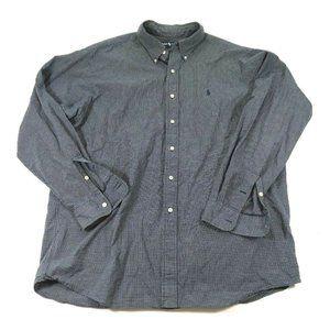 Ralph Lauren XL Long Sleeve Button Front Shirt E